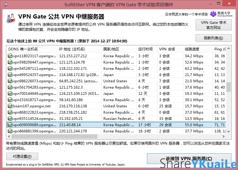SoftEther VPN Client 使用方法
